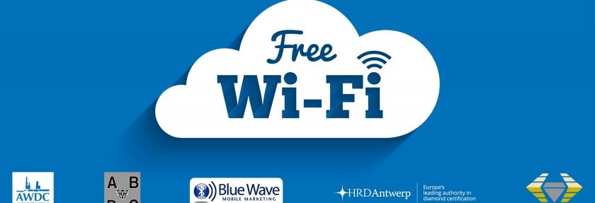 Starting Today Free Wi Fi In The Diamond District Antwerp World Diamond Centre